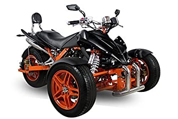 AUFGEBAUT EEC Spy Prime Trike ST14 350cc 2 Pers. Autobahn Zulassung 6-Gang Manuell + Rü ckwä rtsgang Quad ATV Bike Nitro Motors 1129420