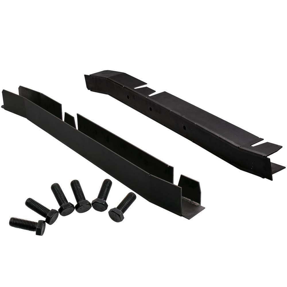 Waverspeed Center Skid Plates Frame Repair Kits for Jeep Wrangler TJ 1997-2002