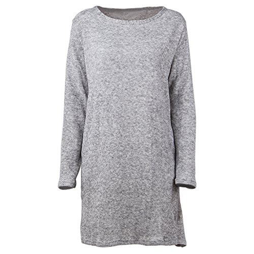 Neck with Knit Long Pocket Boat H Dress Sleeve Loose qwaY4xW6aX