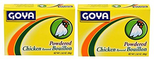 Goya Powdered Chicken Buillon 2.82 oz (2 pack)
