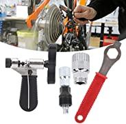 Bicycle Repair Tool Kit Hex Wrench Chain Breaker Crank Extractor Puller Maintenance Set for Trail Riding for T
