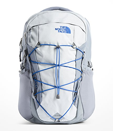 Loop Side Panels - The North Face Borealis Backpack - High Rise Grey Light Heather & Mid Grey - OS