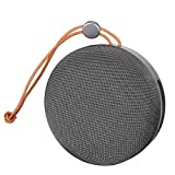 Inverlee Mini Portable Wireless Bluetooth Super Bass Speaker For Smartphone Laptop (Black)