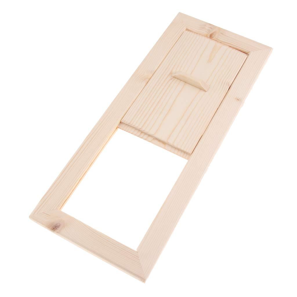 B Blesiya Pelle de ventilation Panneau de Ventilation en bois