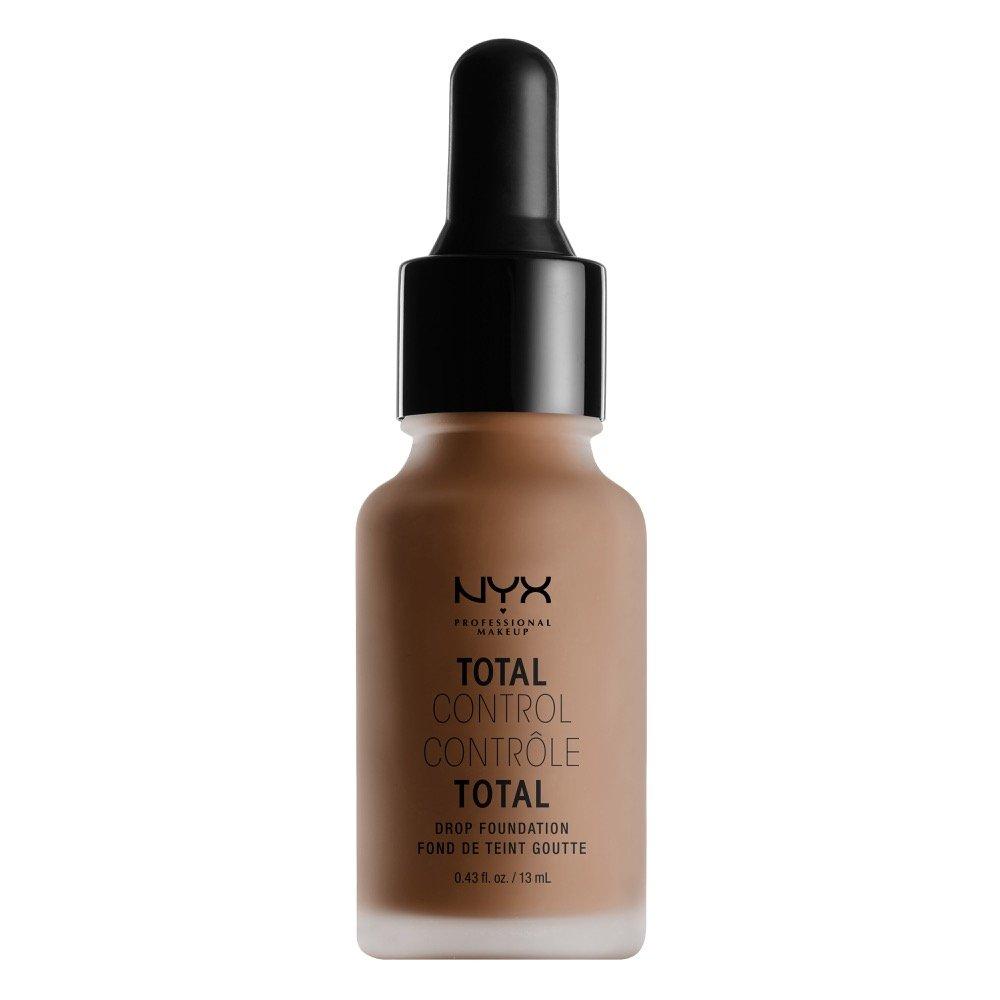 NYX PROFESSIONAL MAKEUP Total Control Drop Foundation, Porcelain, 0.43 Fluid Ounce