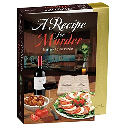 Amazon classic mystery jigsaw puzzle recipe for murder toys classic mystery jigsaw puzzle recipe for murder forumfinder Image collections