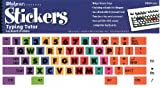 Typing Tutor Computer Keyboard Stickers - Key Label Decal