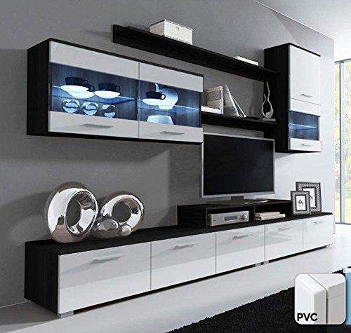 muebles bonitos – Mueble de salon Claudia Mod.8 Puerta PVC (2,5m)