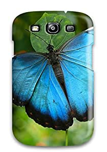 Hot 2117407K49930877 Durable Case For The Galaxy S3- Eco-friendly Retail Packaging(butterfly)