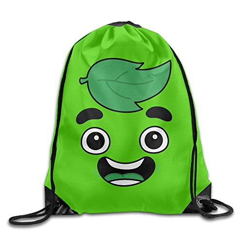 Cheap Guava Juice Face Sackpack Training Gymsack Drawstring Bag Drawstring Backpack Sport Bag Travel Bag Pouch Portable Backpack Rucksack Bagsack 16.9″ X 14.2″ Durable 210 D Polyester