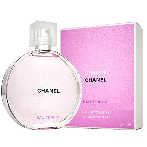 Chânel Tendre Eau De toilette Spray for Women, EDT 3.4 fl oz, 100 ml by Chanel