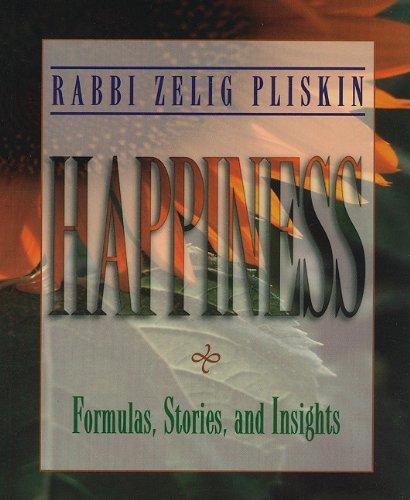 Happiness Zelig Pliskin product image