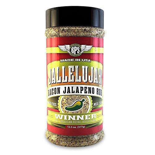 Rub Jalapeno (Jallelujah Bacon Rub 14oz)