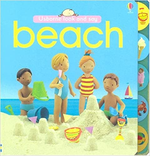 Book Beach (Look and Say Board Books)
