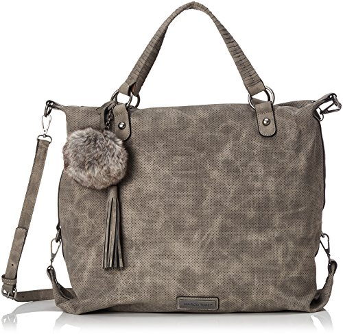 Marco Tozzi 61024 - Shoppers And Shoulder Bags Women Gray (dk.grey Antic)