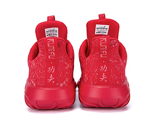 absorb Sneakers Print Running Night Unisex Red Olympic Games Shock Mesh Sports wHSz6q5