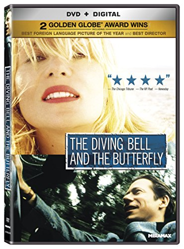 The Diving Bell and the Butterfly [DVD + Digital] -  Rated PG-13, Julian Schnabel, Mathieu Amalric