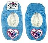 MLP Little Pony Toddler Girls' Fuzzy Slipper Socks