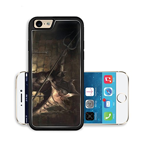 Liili Premium Apple iPhone 6 iPhone 6S Aluminum Backplate Bumper Snap Case illustration of ancient gladiator hero Photo (Pictures Of Gladiators)
