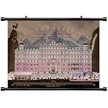 The Grand Budapest Hotel Movie Poster Fabric Wall Scroll Poster (32x24) Inches
