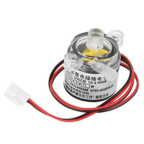 1pc Mini Water Pump, Submersible Micro Brushless, 12V DC,6W Food Grade , 2L/min by Walfront