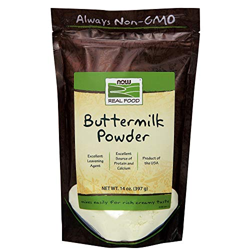 NOW Foods, Buttermilk Powder with Protein and Calcium, Product of the USA, 14-Ounce (Bobs Red Mill Buttermilk Powder)