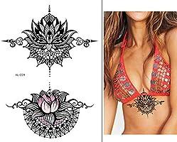Tatuaje de mandala Lotus tatuaje para el pecho, tatuaje para ...