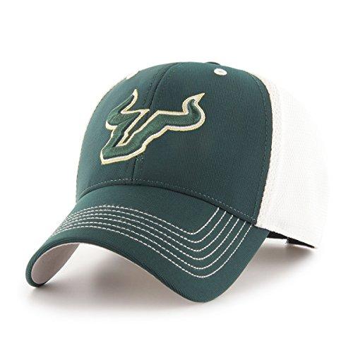 NCAA South Florida Bulls Sling OTS All-Star MVP Adjustable Hat, Dark Green, One Size