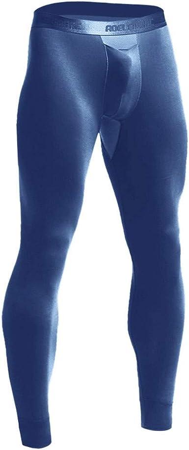 2 Pack Hanes Men/'s Thermal Underwear Long John Waffle Pant Base Layer Tights Lot