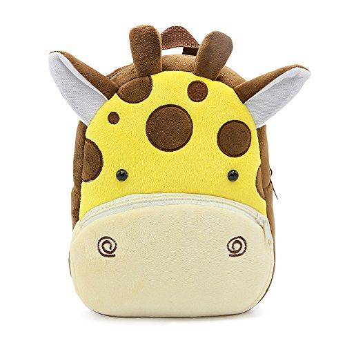 Gosear Cartoon Kinder Kind Kleine Soft Plüsch Schultasche Schule Tasche Rucksack für Junge Mädchen Geschenk Satchel Cat E pkGABrFP