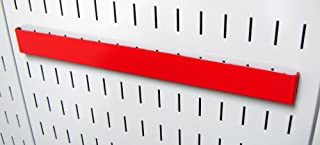 product image for Wall Control Pegboard 14in Accessory Hanger Tool Holder Bracket Pegboard Accessory for Wall Control Pegboard and Slotted Tool Board – Red
