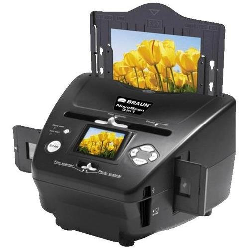 Braun NovoScan 3-in-1 Scanner for Film and Photos, 1800x1800dpi Optical Resolution by Braun (Image #1)