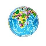 Kirbyates Squishy Toys Stress Relief Mini Simulation World Map Foam Ball Atlas Globe Palm Ball Planet Earth Ball