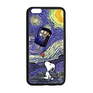 Generic Doctor Who Tardis Police Call Box Custom Cover Case For IPhone6 Plus 5.5