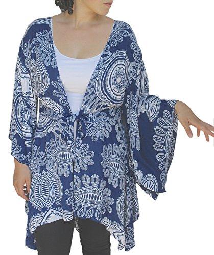 Plus Size Cardigan | Kimono Sleeve Style, Larger Fit for Plus Sizes