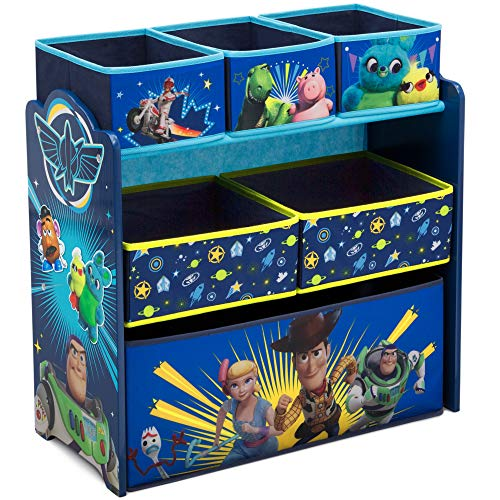Delta Children Design and Store 6-Bin Toy Storage Organizer, Disney/Pixar Toy Story 4 (Big Baby Toy Story)