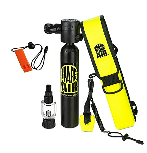 Submersible System Spare Air Model 300 Package Kit 3.0 cu ft w/Safety Whistle by Submersible System