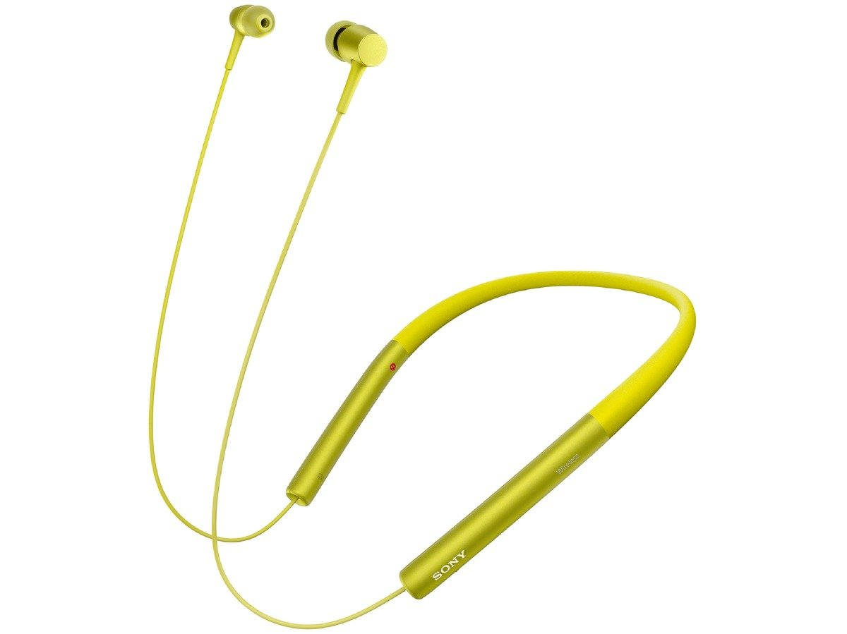 SONY wireless stereo headset MDR-EX750BT/Y (Lime yellow)