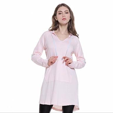 on sale 76d40 740f1 Damen Langarm Sweatshirt Dress Pullover Hoodies Kleider ...