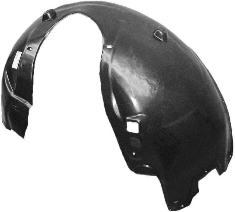 KA Depot for Magnum//Charger //300C 2005-2010 5065503A CH1250128 Front Driver Left Side Fender Liner Inner Panel Plastic Guard Shield