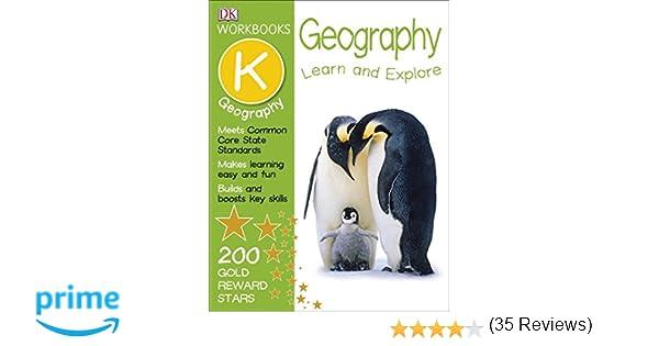 DK Workbooks: Geography, Kindergarten: DK: 9781465428509: Amazon ...