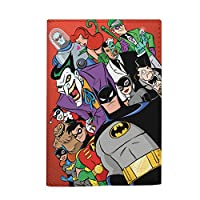 All DC comics passport holder travel wallet eco leather material
