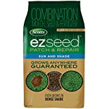 Scotts EZ Seed Patch & Repair Sun and Shade - 10 Lb., Combination Mulch, Seed & Fertilizer, Reduces Seed Wash-Away, Seeds up to 225 sq. ft.