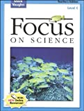 Focus on Science, Steck-Vaughn Staff, 0739891529