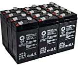 SPS Brand 6V 3.2 Ah Replacement battery for Baxter Healthcare 521 CARDIAC OUTPUT COMPUTER (12 PACK)