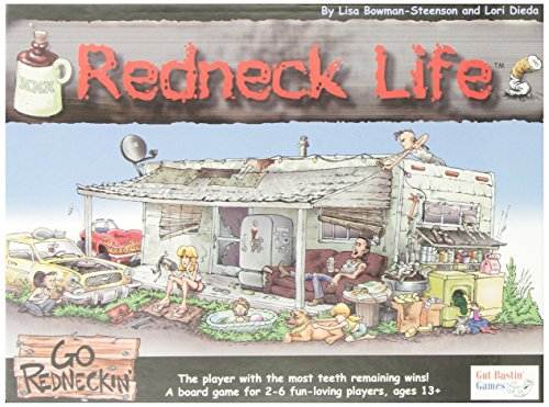 Game Dice Life Of (Redneck Life Board Game)