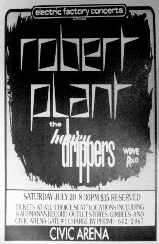 Amazon com: Robert Plant CBE Honey Drippers Led Zeppelin
