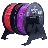 HATCHBOX 2 Spool 3D Printer Filament Tabletop Wall Mount Rack from HATCHBOX