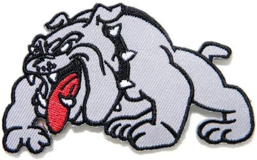 Georgia Bulldogs NCAA Football Dog Pet Logo Sign Patch Iron on Applique Embroidered Sew