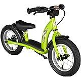 Bikestar 12 inch (30.5cm) Kids Balance Bike / Kids Running Bike - Classic - Green